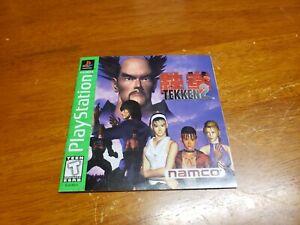 Tekken 2 PS1 Manual Only (Sony Playstation 1) Namco