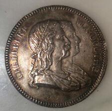 C1 HOPITAUX CIVILS LYON Medaille ARGENT 34 mm 17.55 g