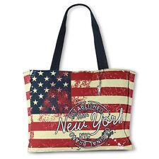 Unifarbene Damen-Shopper/- Umwelttaschen aus Canvas/Segeltuch