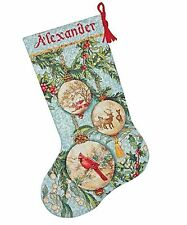 Enchanted Ornaments Christmas Stocking 70-08854 Counted Cross Stitch Kit