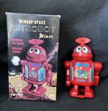 Vintage Reproduction ROBOT Wind Up Space TOY Astrobot Minor Westminster #4216