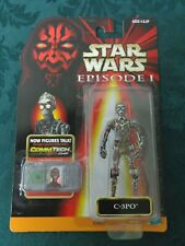 Star Wars: Episode 1 - C-3Po Action Figure 1998 Hasbro adding Star Wars stickers