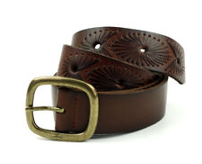 Levi ´ S Cintura in pelle Unisex 223182 Marrone Taglia 85 Cm (Larghezza 3,6 Cm)