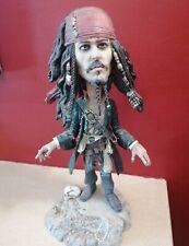 NECA Jack SPARROW Pirates of the Caribbean Head Knocker Bobbing Head Johnny Depp