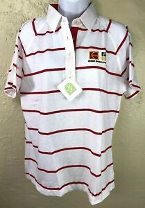 VTG Kodak Sports Program LPGA Ladies LaMode Golf Shirt Polo Sz Large NWT