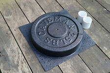 Cast Your Own Weights! 25 lbs Olympic Concrete Weight Mold. Made in USA Caveman