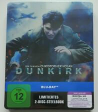 Dunkirk - 2-Disc Blu-Ray Steelbook | NEU NEW OVP
