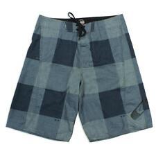 Oakley Bunker 2.0 Grey Black 30 S Green Mens Casual Boardies Shorts Walkshorts