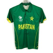 Icc Champions Trophy 2017 Cricket Mohammad Yousuf Signed Polo Competition Shirt