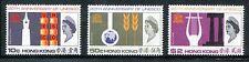 Hong Kong 231-233,MNH.Michel 224-226. UNESCO,20,1966.Education,Science, x16100