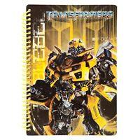 Original Transformers 3 Bumblebee Notizblock Schreibblock Notebook DIN A5 NEU