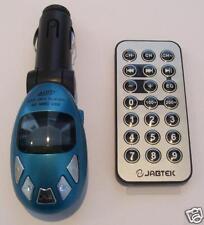 CAR MP3 PLAYER TRANSMITTER IN BLUE UK SELLER *NEW*