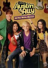DISNEY AUSTIN & ALLY - ALL THE WRITE MOVES ! DVD Factory SEALED