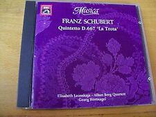 FRANZ SCHUBERT QUINTETTO D.667 LA TROTA  CD