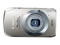 Canon PowerShot ELPH 500 HS 12.1 MP CMOS Digital Camera with HD Video - SILVER