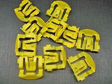69 70 71 72 Maverick front windshield reveal moulding clips NOS DODZ-6203174-C