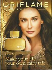 Celebs in Ads - ORIFLAME More by Demi Moore Print Ad # 03 0