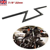 22mm 7/8 Motorcycle Drag Z Bar Handlebar For Yamaha Honda Harley Chopper Bobber