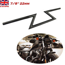 22mm 7/8 Motorcycle Drag Z Bar Handlebar For Yamaha Honda Harley Chopper Bobber