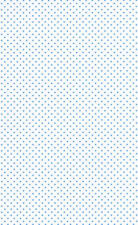 10 Sheets A4 Pale Blue Coloured Spots on White Card 240gsm NEW