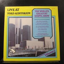 Various - Live At Ford Auditorium Volum II LP Mint- SOG-108 1981  Vinyl Record