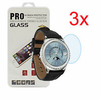 3-Pack Gorilla Glass Screen Protector For SAMSUNG Gear S2 Classic R732 R735