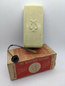 Vintage Authotone National Model 855 Ivory Mechanical Door Chime Universal Model