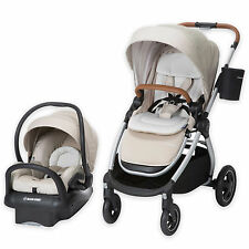 Maxi Cosi Adorra Travel System Nomad Sand- Stroller & Mico MAX 30 Car Seat New