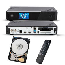 VU+ Uno 4K SE 1x DVB-S2 FBC Twin Tuner Linux SAT Receiver UHD mit 1TB Festplatte