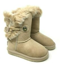 Australia Luxe Collective Nordic Short Genuine Shearling Lined Sand Boot SZ:11
