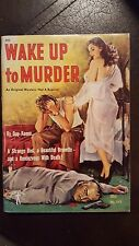 "Day Keene, ""Wake Up to Murder,"" 1952, Phantom 513, NF, 1st"