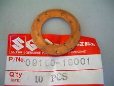 09160-19001 NOS Suzuki con rod thrust washer qty 2  RM125 A100 GT380 TC100 TM125