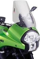 08-09 Kawasaki Versys 650 KLE650A Puig Touring Windscreen, Light Smoke  4360H