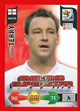 SOUTH AFRICA 2010 - Adrenalyn Panini - Card ENGLAND SUPERSTAR - TERRY
