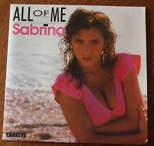 Sabrina, all of me / instrumental, SP - 45 tours France