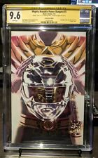 Mighty Morphin Power Rangers #5 CGC SS SDCC Variant SIGNED GRADED 9.6