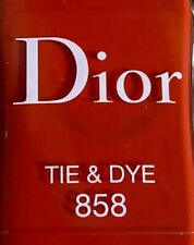 Dior nail polish 858 TIE AND DIE limited edition