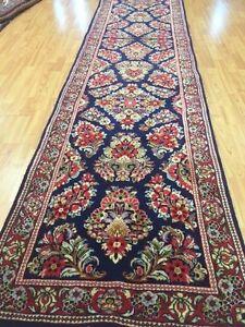 26x137 Inches Brown Carpet Runner Rug Bohemian Corridor Rug Anatolian Hallway Rugs Herki Carpet Turkish Rug 8644 Vintage Rug
