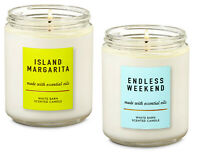 ENDLESS MARGARITA & ENDLESS WEEKEND Single Wick Scented Candle 2 pack 7 oz. Each