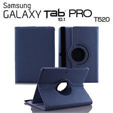 FUNDA PARA TABLET SAMSUNG GALAXY TAB PRO 10.1 T520 GIRATORIA AZUL OSCURO