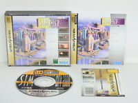 Sega Saturn SIM CITY 2000 with SPINE CARD * Import JAPAN Video Game ss