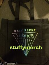 KATY PERRY RARE Prismatic Tour Logo VIP Canvas Tote Bag 2 Sided SUPERBOWL