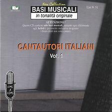"BASI MUSICALI ""CANTAUTORI ITALIANI"" VOL.31 (4CD)"