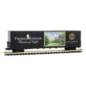 Micro-Trains 10200802 - 60ft Excess Height Box Car Kinkade Series #2 - N Scale
