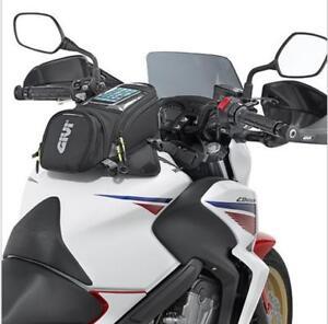 Premium Gi-vi Black Fuel Tank Bag Bike Motorcycle Magnetic Outdoor Wallet Gear