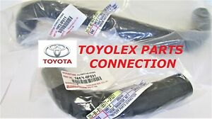 GENUINE TOYOTA UPPER 16571-0F031 & LOWER 16572-0F011 RADIATOR HOSE SET SEQUOIA