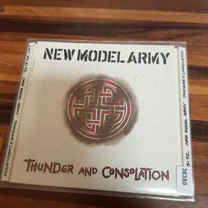NEW MODEL ARMY : Thunder And Consolation  NIMBUS  > VG+ (CD)