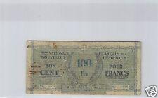 New Hebrides 100 Francs ND (1943-44) 5 000 Copies Pick 3 Rare