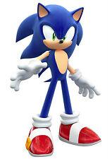 Sonic El Erizo Sega Foto Poster Print Pared Arte A4 260gsm