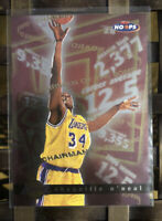 1997-98 NBA Hoops Chairman Of The Board #1 SHAQUILLE O'NEAL SHAQ C